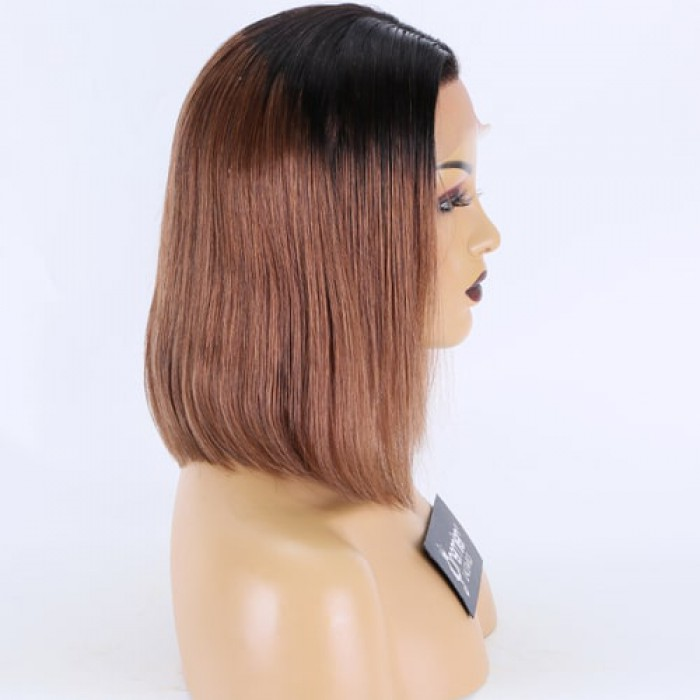 Dark Roots Brown Hair 12 inches