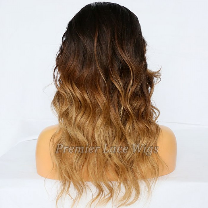 Blonde Ombre Wavy Virgin Hair