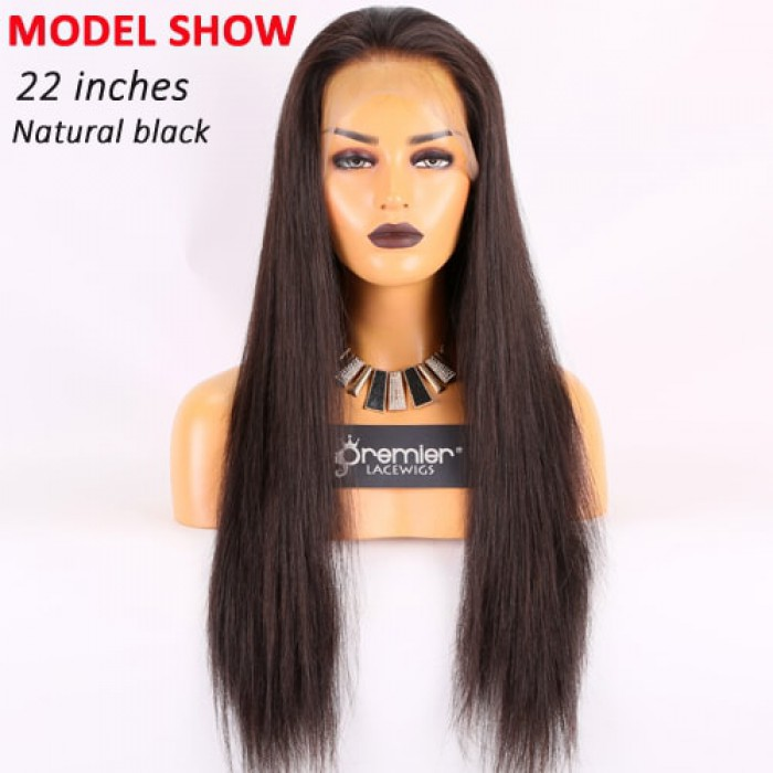 Natural black color ,22 inches
