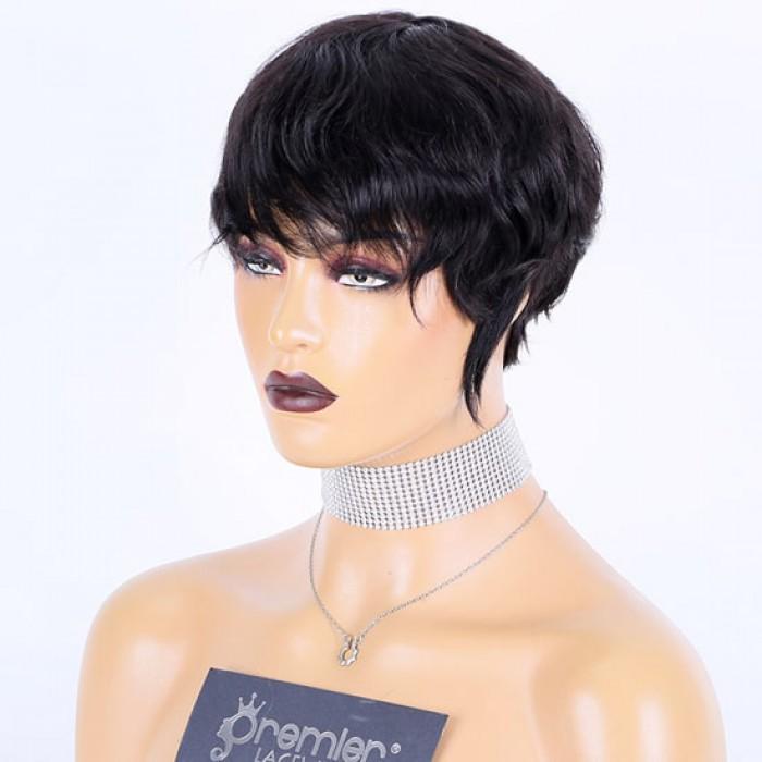 Pixie Cut Short Wavy