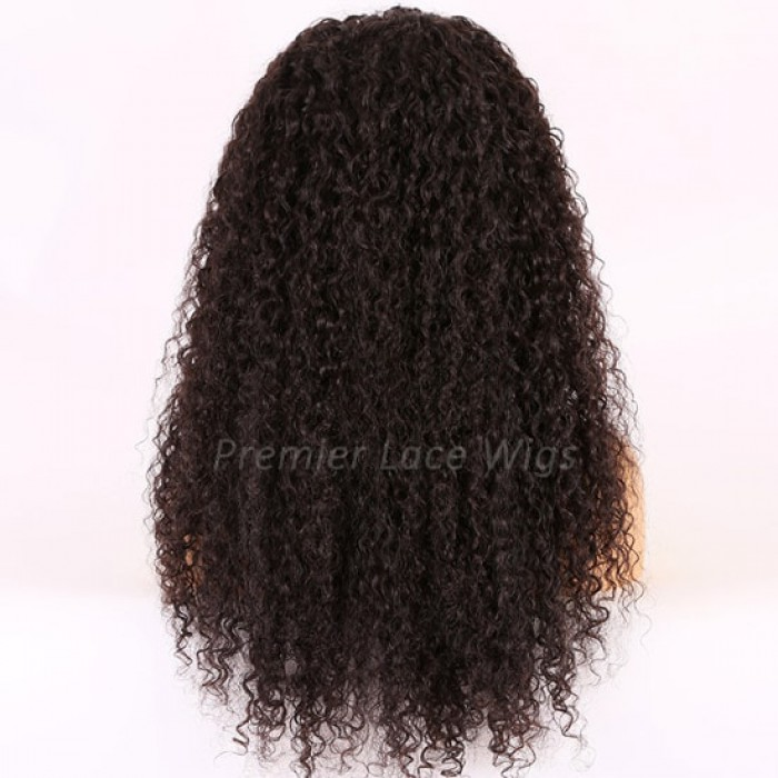 22 inches, natural black, 150% thick