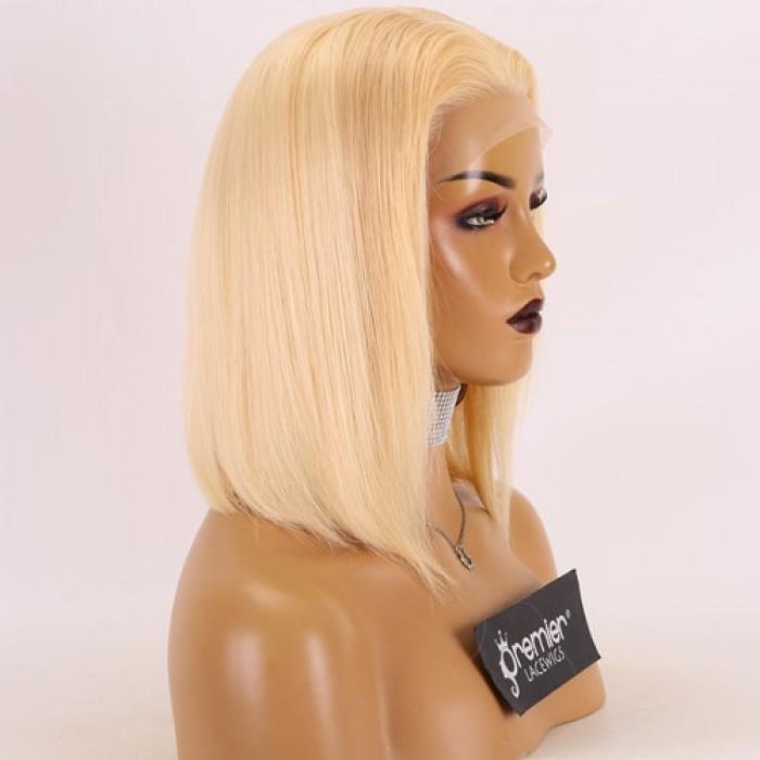 Blunt Cut Bob 613# Blonde Hair 12 inches