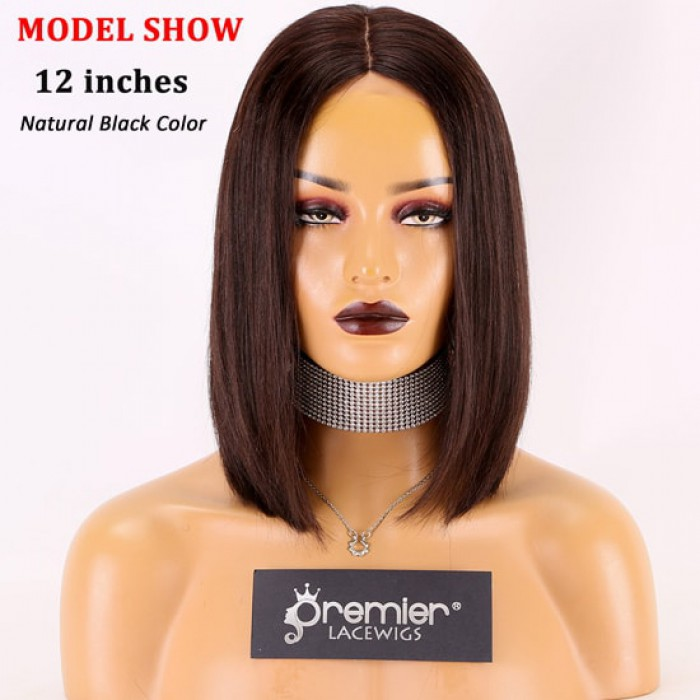 12 inches, natural black