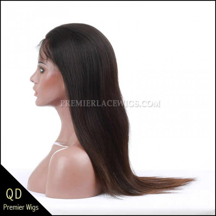 Brazilian Virgin Hair Glueless Lace Wigs