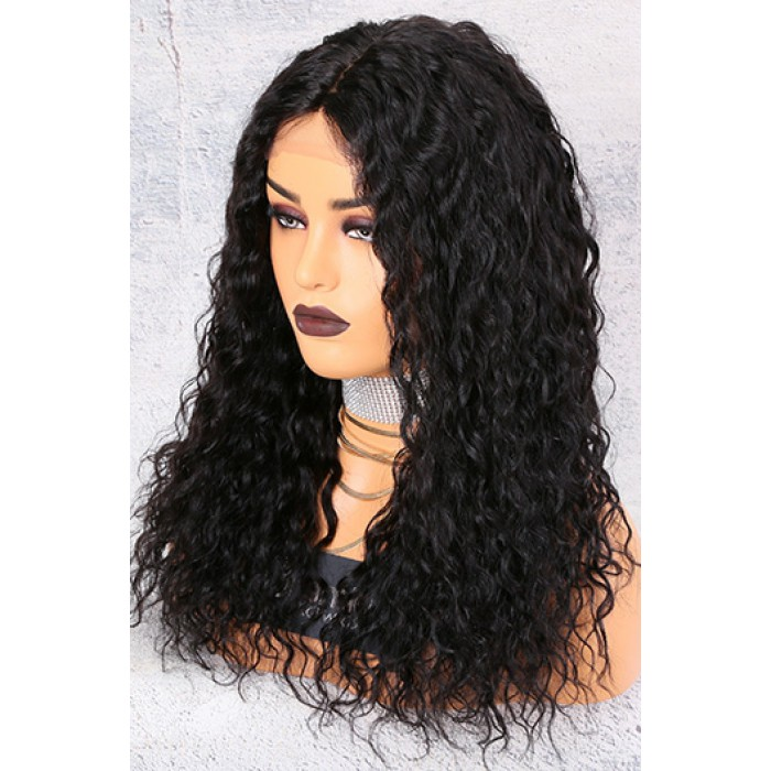 150% Density Affordable Lace Wig Wet Wavy