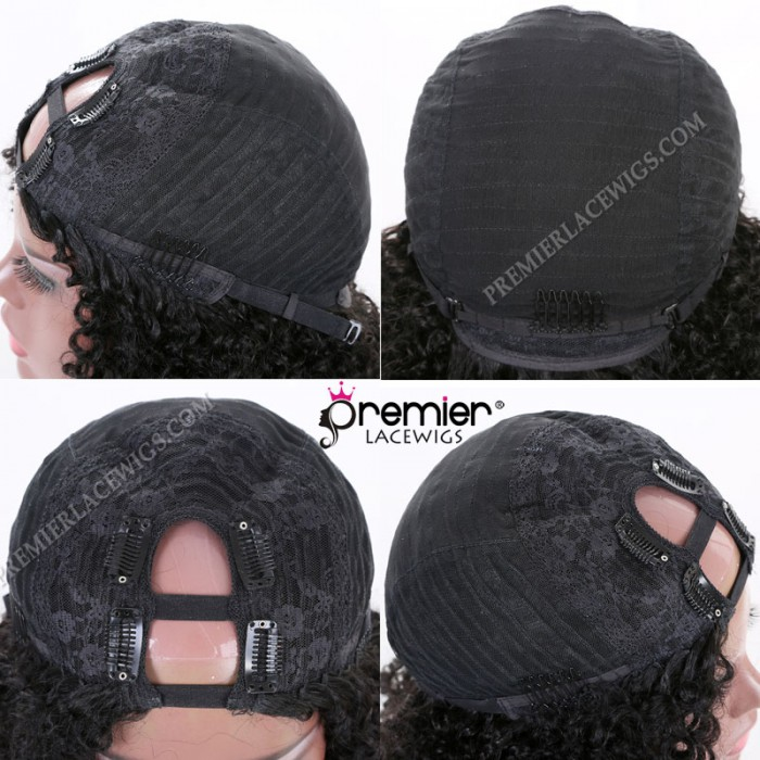 Textured U-Part Wig