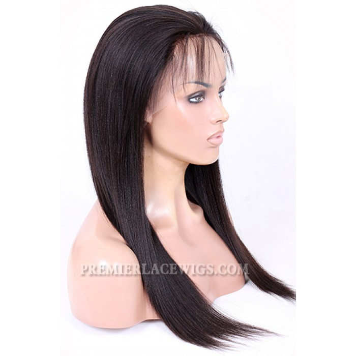 Full Lace Wigs Chinese Virgin Hair Light Yaki