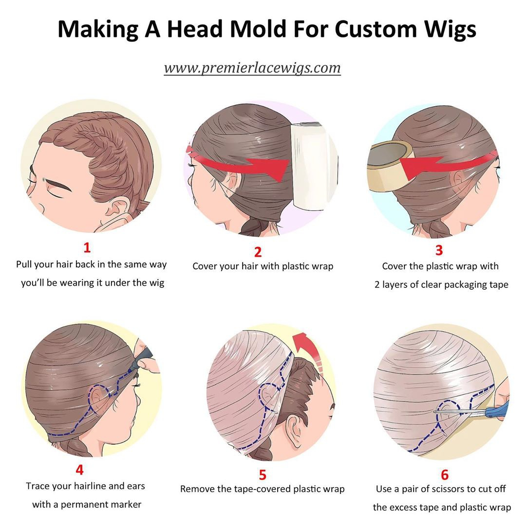 How To Make A Head Mold For Custom Lace Wigs