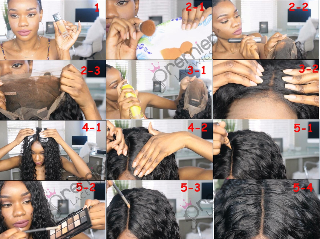 How To Make the Knots Invisible without Bleach or Dye