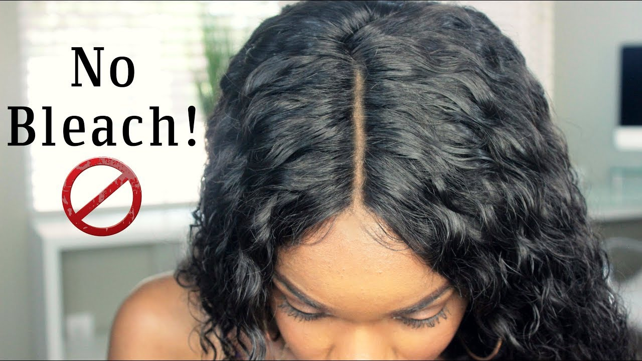 How To Make the Knots Invisible without Bleach or Dye.