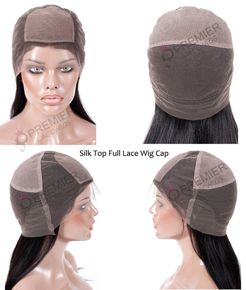 silk top full lace wig cap