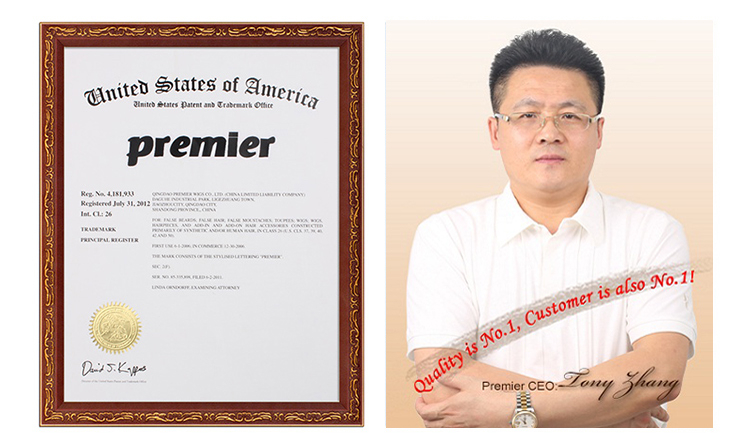 Premier Wigs CEO,Tony Zhang