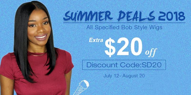 Summer Deals Bob Lace Wigs