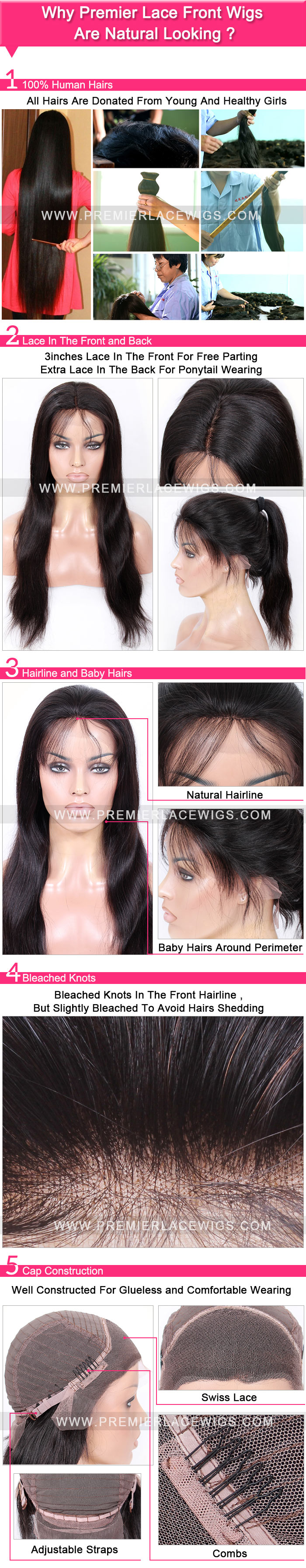 Why Premier Lace Front Wigs Are Natural Looking