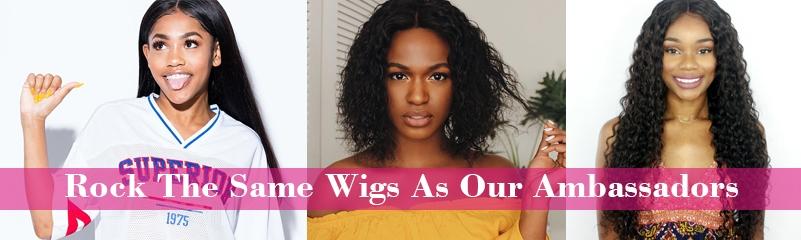 Ambassadors of Premier Lace Wigs