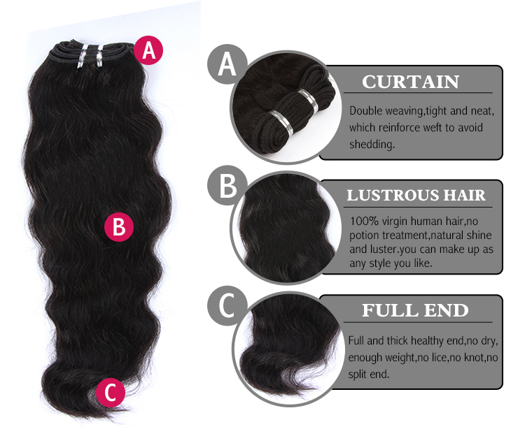 A Silk Base Closure with 2 Bundles Deal Brazilian Virgin Hair Weave Natural Wave